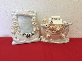 Noah's Ark Bank and Frame Set by Lenox - $100.00