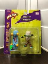 Universal Studios Monster The Invisible Man Shredder Skater w/ Skateboard - $11.29
