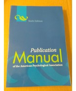 Manual of American Psych. Assoc. by American-sixth edition 7th printing ... - $6.99