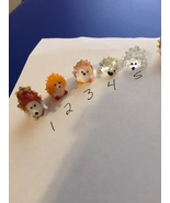 Miniature glass hand blown hedgehog in choice of color made in USA - $39.99