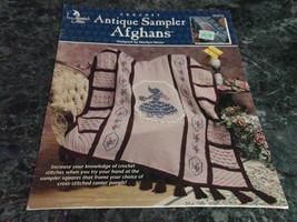 Antique Sampler Afghans by Marilyn Mezer - $3.99