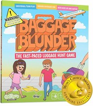Baggage Blunder Fast-Paced Luggage Scavenger Hunt Board Game  - $28.59