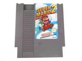 Super Mario Bros 2 Nintendo NES 1988 Video Game Cartridge Pins Cleaned T... - $20.78