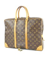 Authentic LOUIS VUITTON Porte-Documents Voyage Monogram Briefcase Bag #3... - $599.00