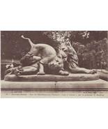 1922 La Savoie France Lion et Lionne Post Card - $3.14