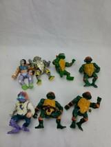 Vintage Lot Of 1989 Playmates Teenage Mutant Ninja turtles Action figure  7 - $27.99