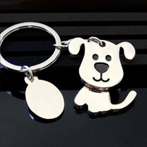 Cute Print Dog Animal Key Chain Accessory Keychain Pendant Keyring in Gi... - $9.39