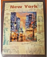 RIOLIS NEW YORK Cities of World Travel Embroidery Cross Stitch Kit PT-00... - $19.99