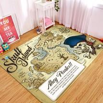 3D Skull Map 28 Non Slip Rug Mat Room Mat Quality Elegant Photo Carpet UK Summer - $106.68+