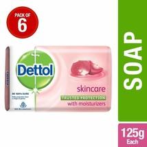 Dettol Skincare Soap, 125 g (Pack Of 6) - $29.69