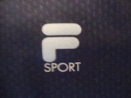 FILA Sport apparel sleeveless polyester black t-shirt size XL  - $17.81