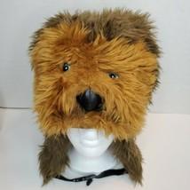 CHEWBACCA Winter Hat w/ Ear Warmers Star Wars Lucas Films Adult One Size - $19.35