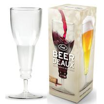Deaux Stemware Upside Down Style Beer Bottle Wine Glass Goblet Inverted ... - £7.12 GBP