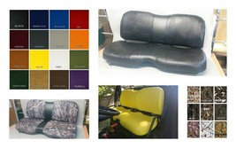 John Deere Gator Bench Seat Covers XUV 625i in SOLID BLACK   or 45+ Colors - $99.95