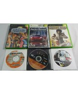 Lot of 4 Preowned XBox Games Prince of Persia Racing Deathmatch Live Disk - $16.73