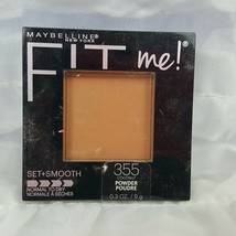 Maybelline Fit Me! Pressed Powder #355 Coconut Set + smooth normal to dry - $6.23