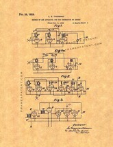 Method Of And Apparatus For The Generation Of Sounds Patent Print - $7.95+