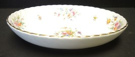 "Minton 10 1/4"" Oval Vegetable Bowl - Marlow Pattern - $23.74"