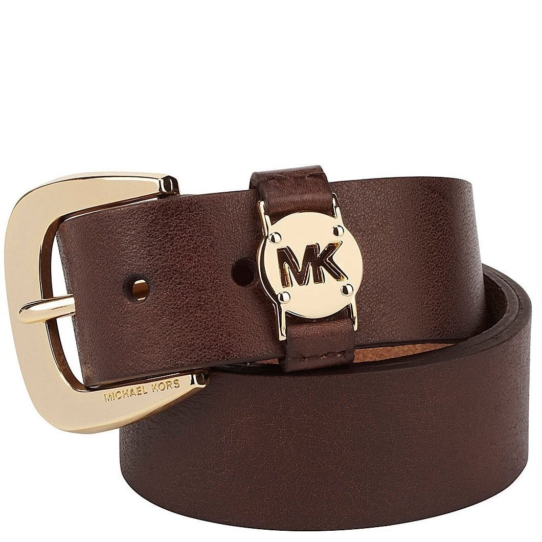 ff06ecbc315b3 Authentic MICHAEL KORS Chocolate Brown Belt and 50 similar items. S l1600