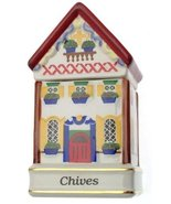 Danbury Mint c1993 Spices of The World Switzerland Swiss Chalet Chives S... - $31.84