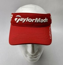 TaylorMade R1 RBZ Lethal Golf Visor Hat Red - Free Shipping - $12.85