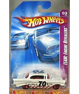 2008 Hot Wheels #155 Team: Engine Revealers 3/4 '57 CHEVY White w/Red 5 Spokes - €8,26 EUR