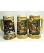 "Miller Ducks Unlimited Terry Redlin Beer Stein 3 7"" Collectible Mugs 199... - $44.54"
