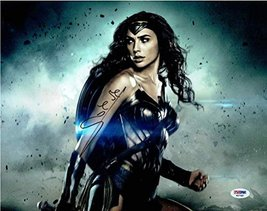 Gal Gadot Wonder Woman Signed 11x14 Photo Certified Authentic PSA/DNA COA - $494.99