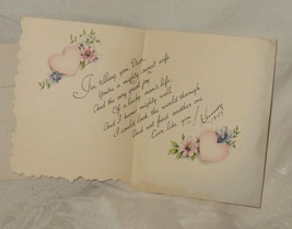 """Gibson 1947 Valentine's card """"A Valentine For My Wife"""" - $12.95"""