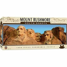 MasterPieces National Parks Panoramic Jigsaw Puzzle, Mount Rushmore, South - $21.95