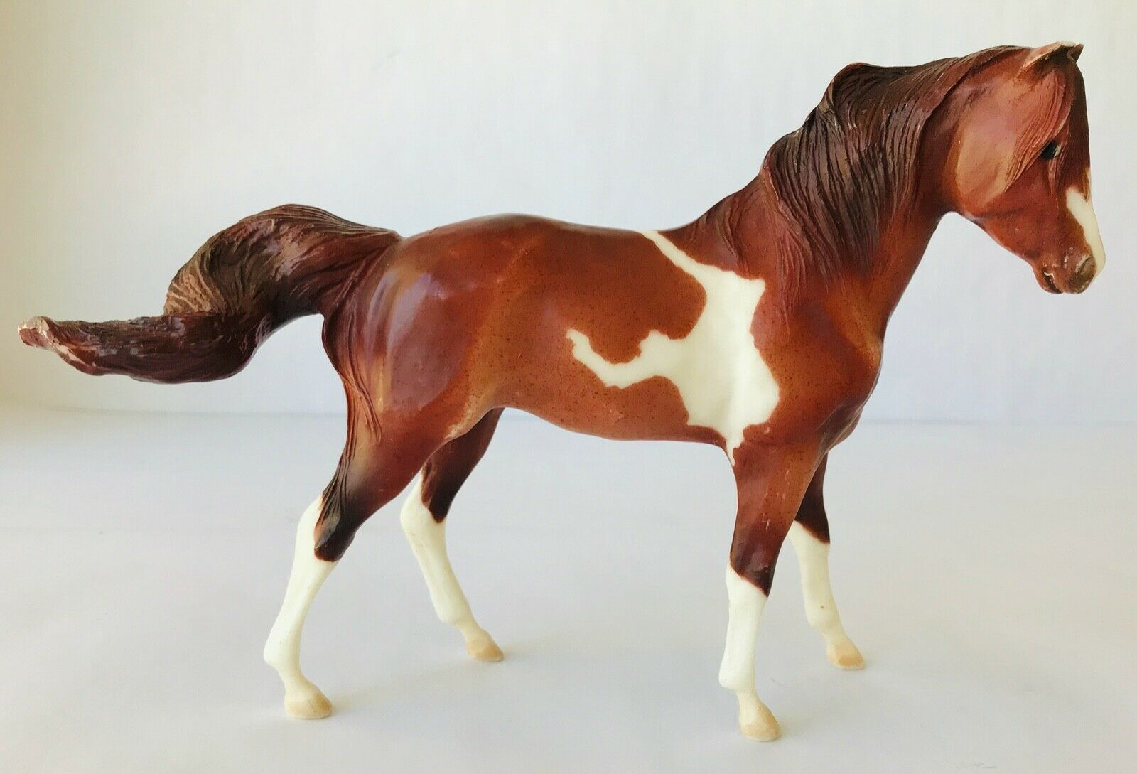 Primary image for Breyer Classic Horse 750135 Redbird Pinto Mare Red Roan Tovero 2005