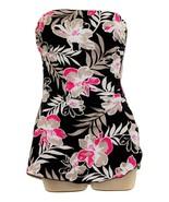 Strapless floral swim dress  - $10.99