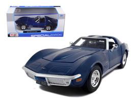 1970 Chevrolet Corvette Blue 1/24 Diecast Model Car by Maisto - $37.95