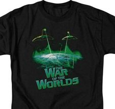 The War of the Worlds t-shirt aliens ship Sci-Fi retro 50's graphic tee PAR122 image 3