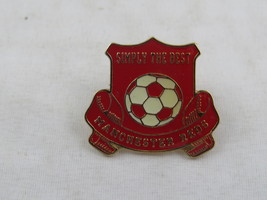 Manchester United Pin - Machester Reds Simply the Best - Enamel Pin - $15.00