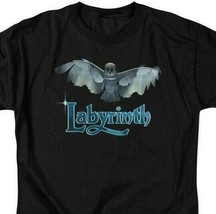 Labyrinth David Bowie Fantasy film Retro 80's adult graphic t-shirt LAB119 image 2