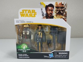"Star Wars 3.75"" Force Link 2.0 - Kessel Guard and Lando Calrissian - Has... - $7.75"