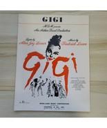 Vintage Say A Prayer For Me Tonight Gigi Alan Lerner Frederick Loewe She... - $12.86