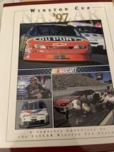 Very nice Nascar 1997 Winston Cup HTF Yearbook-Jeff Gordon Champion - $7.43