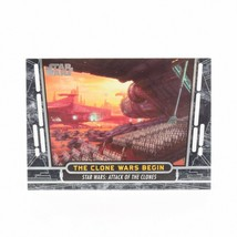 2017 Topps Star Wars 40th Anniversary #48 The Clone Wars Begin Card - $1.24