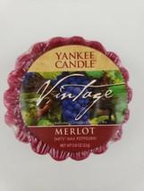 Yankee Candle Vintage Merlot Tart Wax Potpourri VTG Rare Retired HTF - $16.65