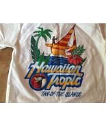 Hawaiian Tropic Tanning Oil Brand Shirt 1986 Mint RARE Beautiful aloha - $21.84