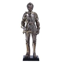 "Pacific Giftware 13"" Tall Medieval Knight with Sword Statue Figurine Sui... - $42.06"