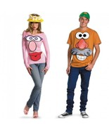 Disguise Toy Story Mr. / Mrs. Potato Head Adult Couple Halloween Costume... - $20.02