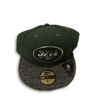 NWT New York Jets New Era 59Fifty Draft Size 7 3/4 Fitted Hat Cap - $24.70