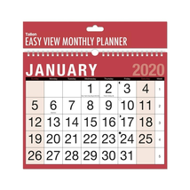 2020 EASY MONTH TO VIEW PLANNER QUALITY CALENDER WALL HANGING PLANNER 3802 - $3.86