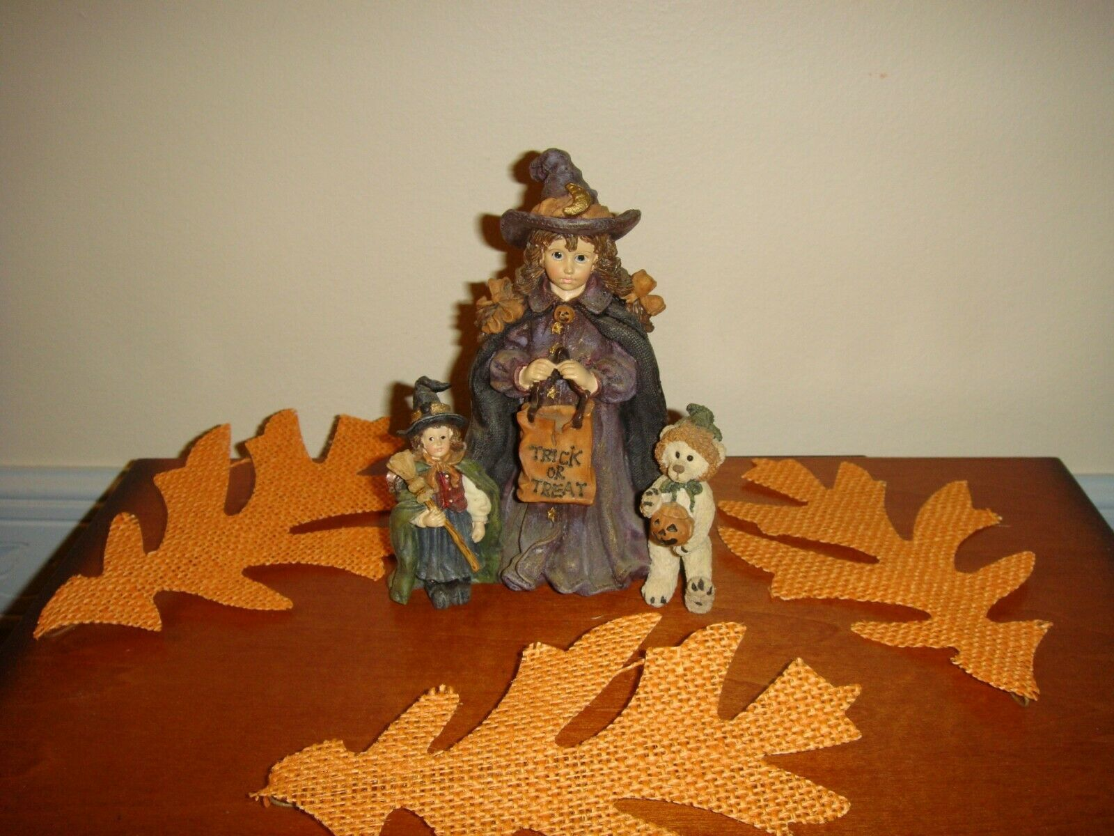 Boyds Bears Yesterday's Child Mallory W/Patsy And JB Trick Or Treat Halloween