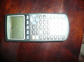 BLACK T1 83 PLUS CALCULATOR DOES TURN ON SELLING PARTS PIXELS ON SCREEN - $18.99