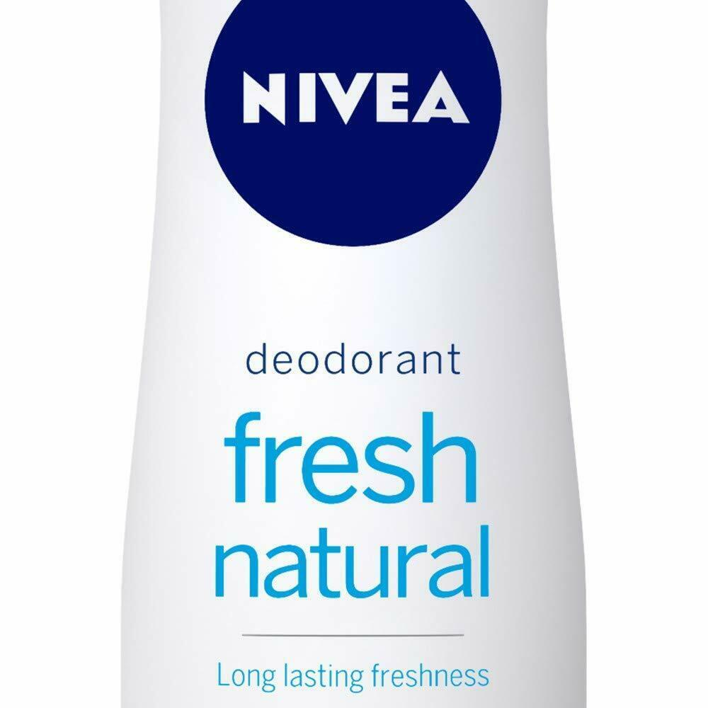 Nivea Fresh Natural Deodorant For Women, 150ml +2