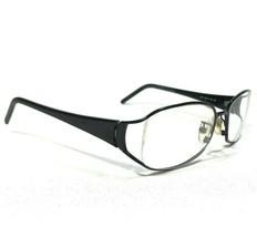 Fendi Sunglasses Eyeglasses Frames Black Square Wire Rectangular F641 001 130 - $65.44